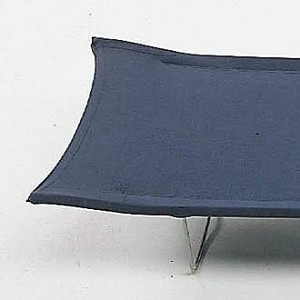 Kampbed blauw